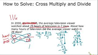 Cross Multiply and Divide