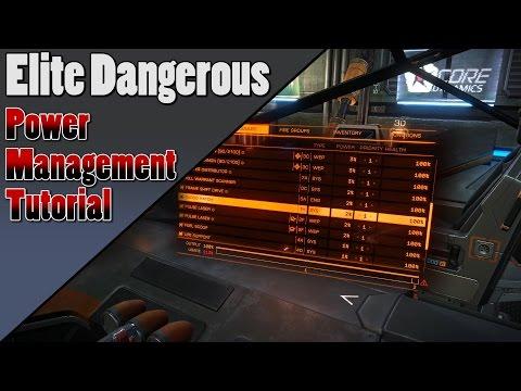 Elite Dangerous - General Power Management Tutorial