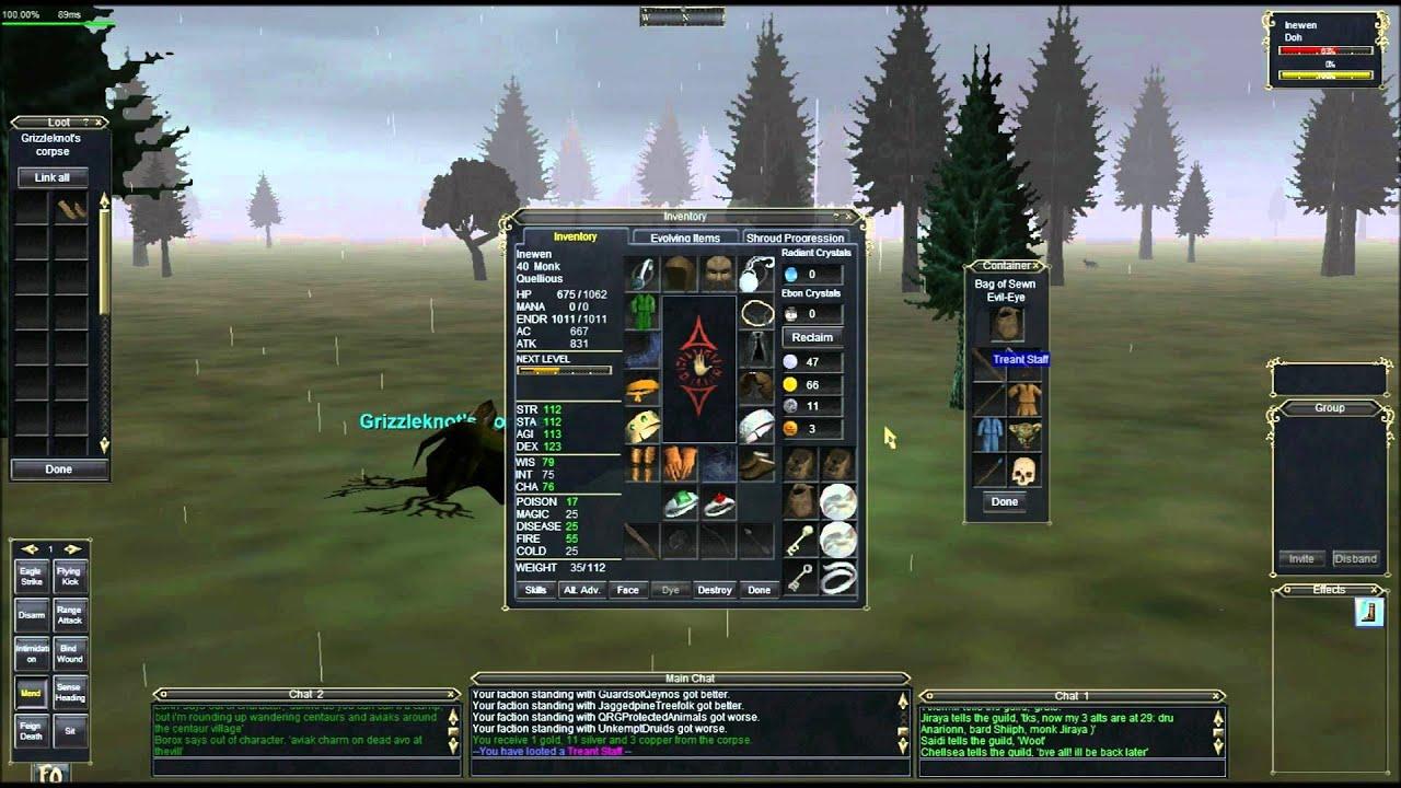 Everquest: Path to Grandmaster | Quillmane, etc  : LightTube