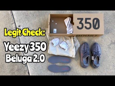 """Yeezy 350 BOOST V2 """"Beluga 2.0"""" legit check"""
