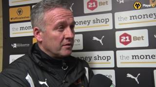 Paul Lambert On The Home Defeat To Wigan