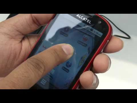 Alcatel One Touch 990, hands on at MWC 2011 - Test-Mobile.fr