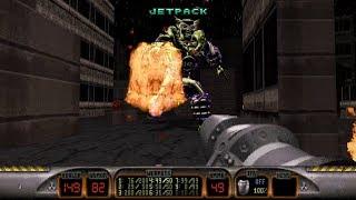 Duke Nukem Total Meltdown Plug'n'Pray walkthrough with all secrets (HD)