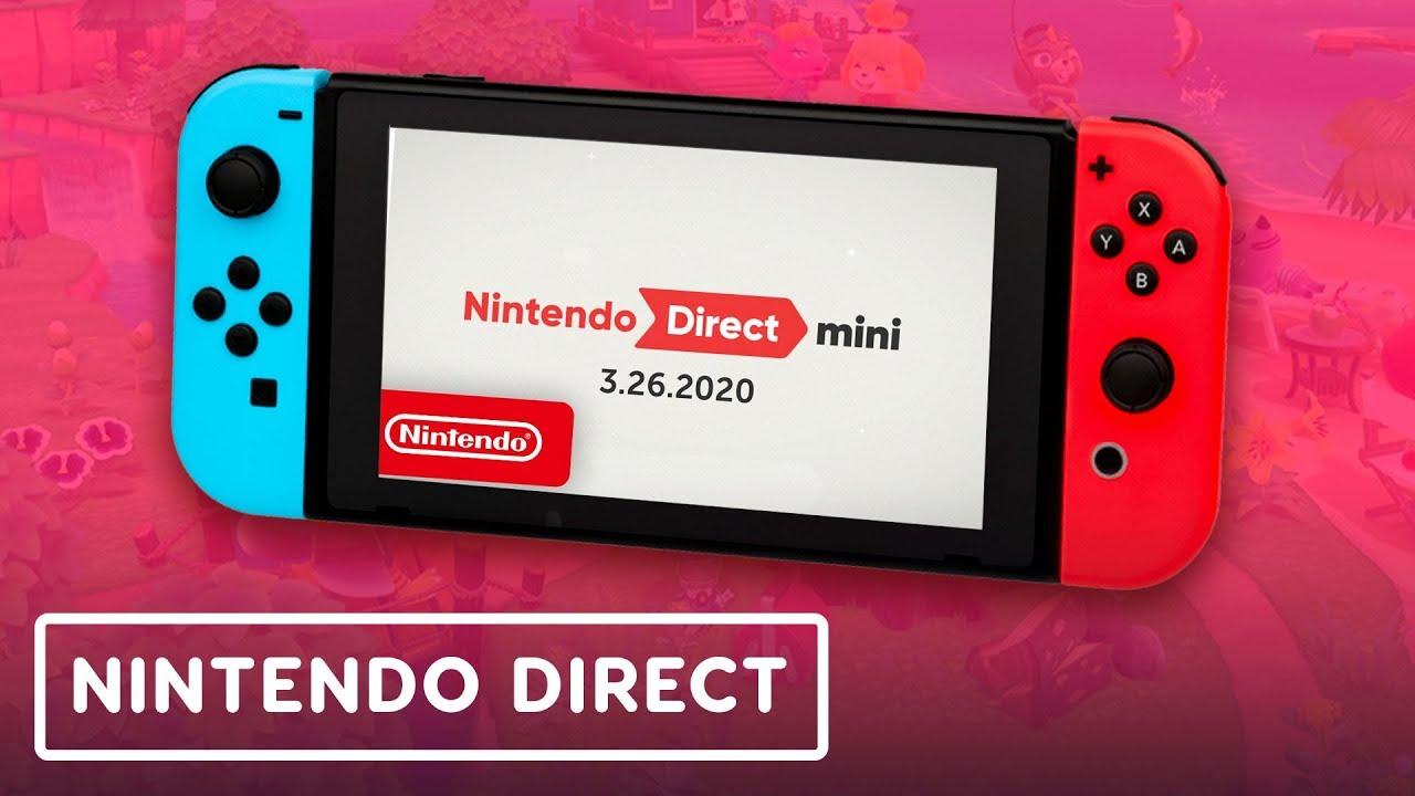 Nintendo Direct Mini 3.26.2020 - YouTube