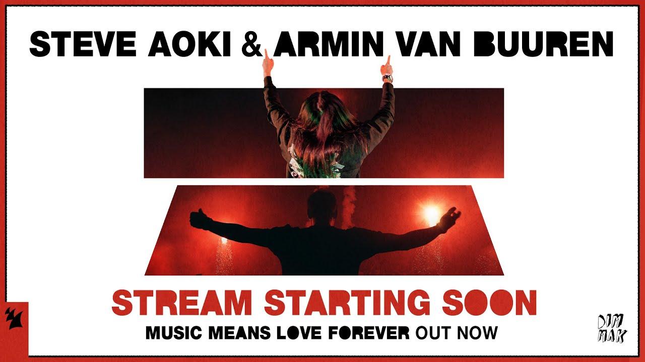 [LIVE] Steve Aoki & Armin van Buuren YouTube Premium afterparty