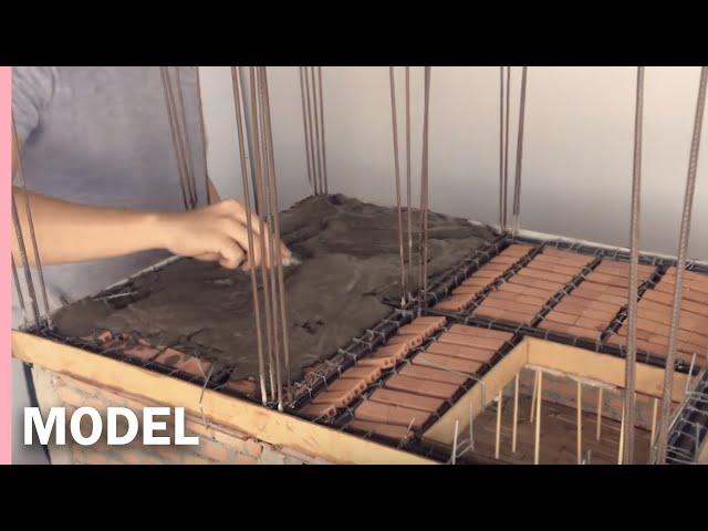 REINFORCED CONCRETE SLAB   --- MODEL --  LOSA EN CONCRETO ARMADO