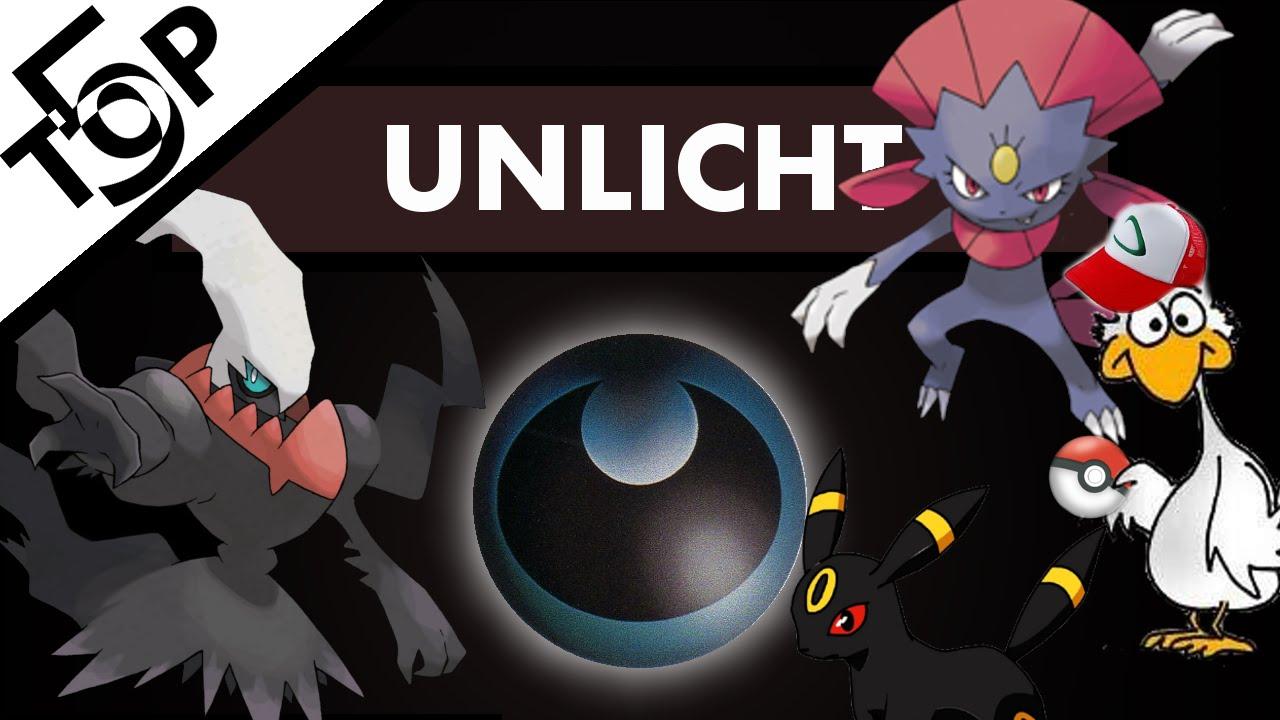 Pokemon Unlicht Schwäche