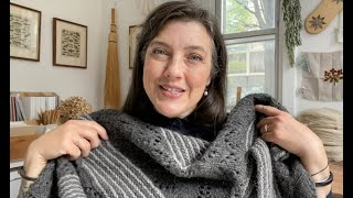 The Gentle Knitter Ep 41—Black and Blue