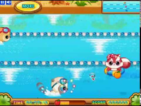 Yoohoo's swimming contest game score 27079