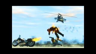 GTA 4 - Трюки, Аварии и Приколы! [#20]