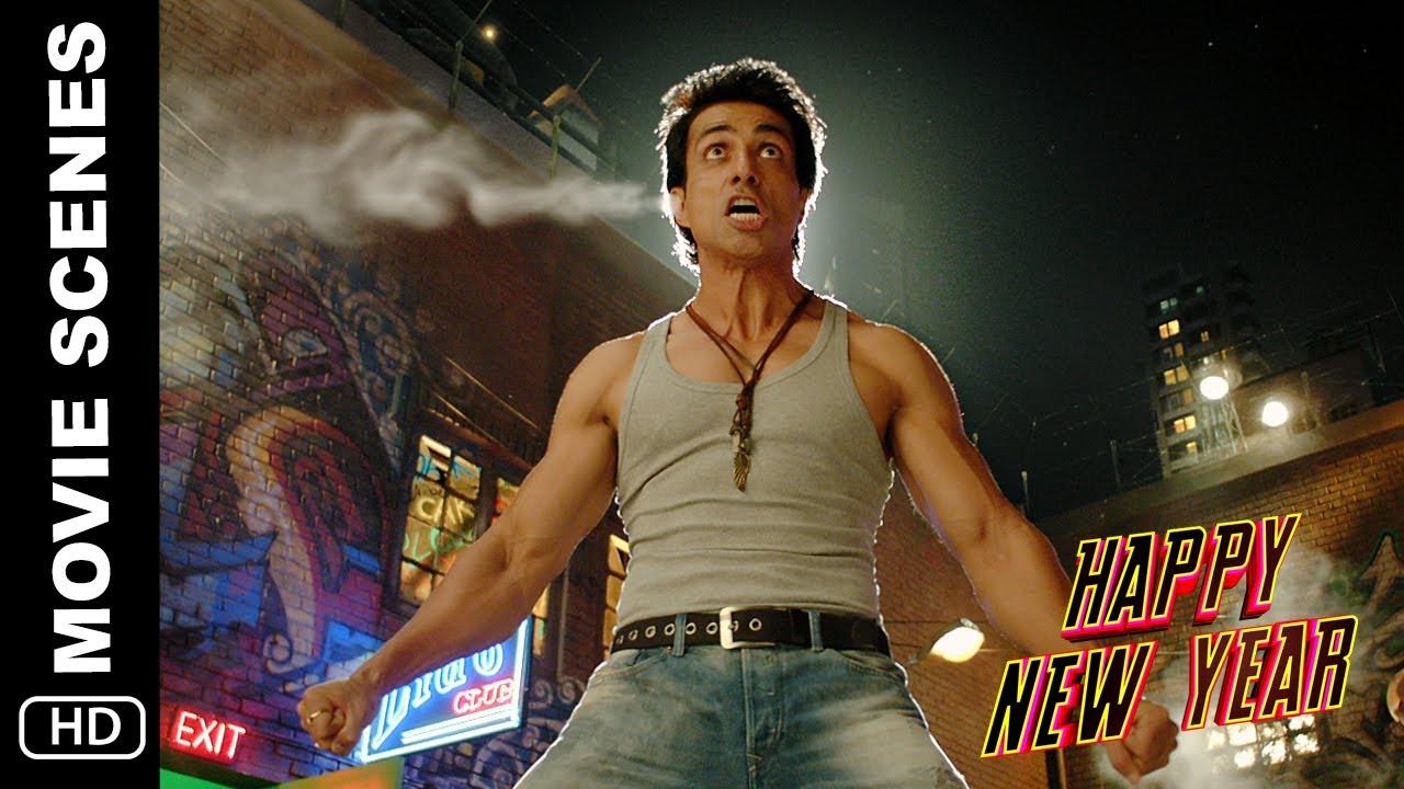 Download 5 Kilo Ka Haath | Happy New Year | Action Scene | Shah Rukh Khan, Sonu Sood, Boman Irani