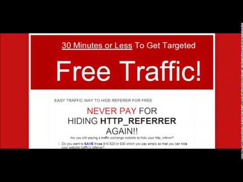 Traffic Exchange With Hidden Referrer - Free