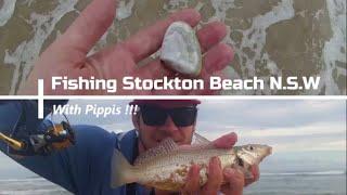 FISHING - stockton beach N.S.W