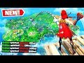 LONGEST TOMATO SPLASH POSSIBLE!! (1000M+) in Fortnite Battle Royale