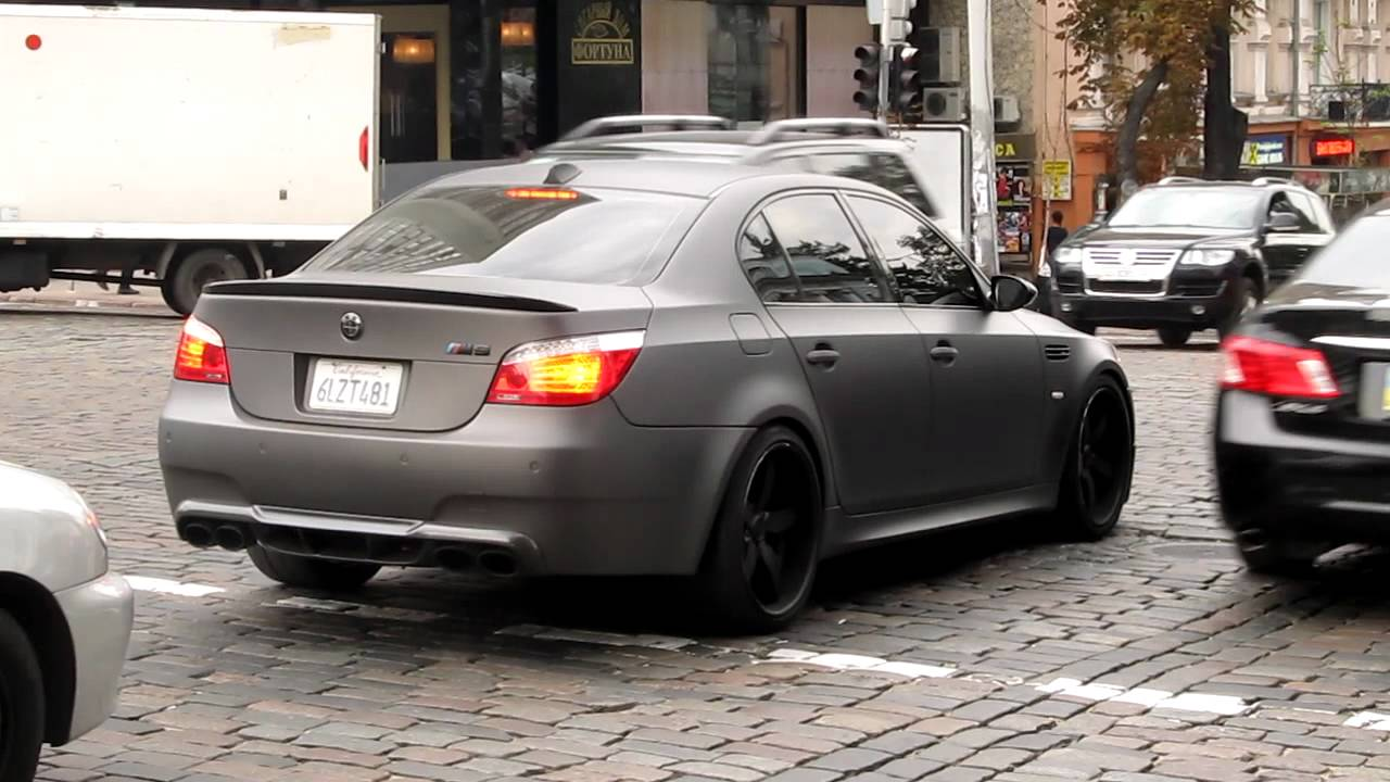 BMW M5 WALDMatte Black