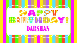 Darshan Wishes & Mensajes - Happy Birthday