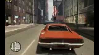 Grand Theft Auto IV - Dodge Charger 1969 - General Lee+country music