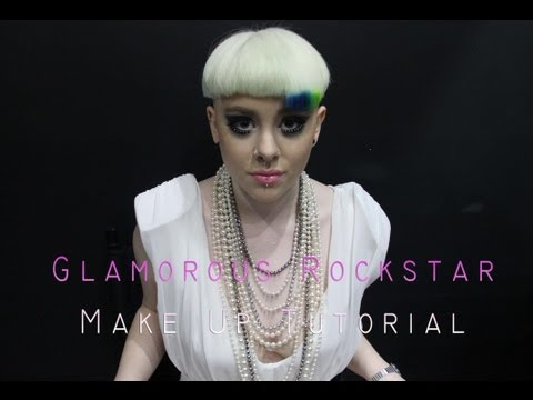Glamorous Rockstar Make Up Tutorial