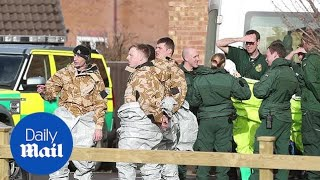 Armed forces investigate nerve agent attack in Salisbury