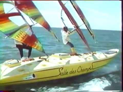 Deux Hommes, Une Planche et l'Atlantique Two Windsurfers Atlantic Crossers