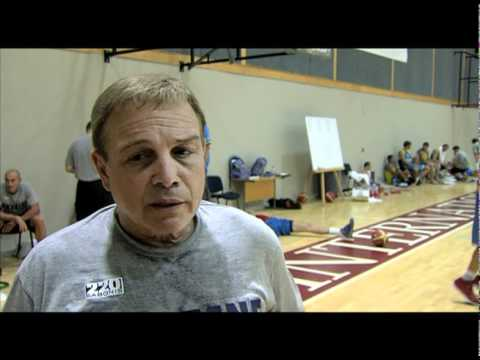 Mike Fratello. INTERVIEW from Klaipeda