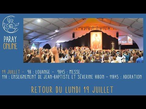 Replay Paray Enseignement de Jean-Baptiste et Séverine HIBON du 19 juillet