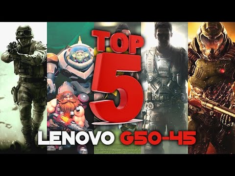 LENOVO G50-45 Gaming #2 | TOP 5 Games | A8 6410 & AMD Radeon