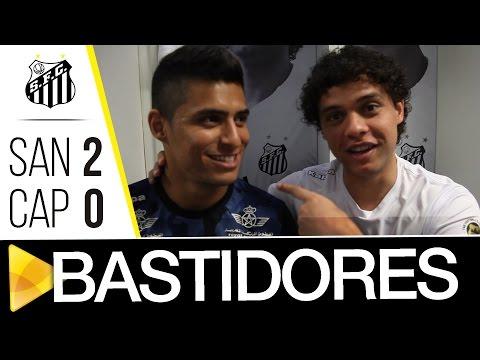 Santos 2 x 0 Atlético-PR | BASTIDORES | Brasileirão (01/10/16)