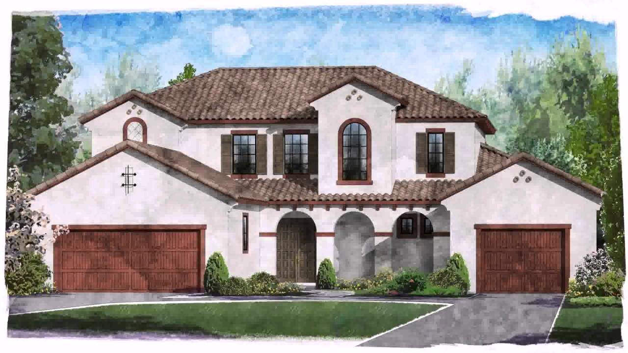 Spanish Style House Construction - YouTube