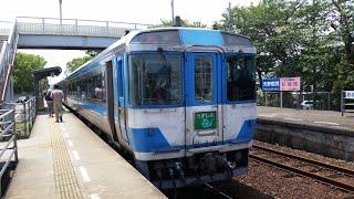 【国鉄型特急185系うずしお】勝瑞⇒徳島