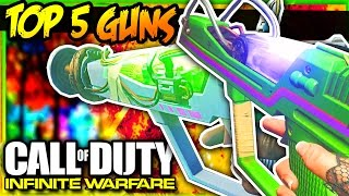 TOP 5 ZOMBIES IN SPACELAND WEAPONS/GUNS!!! (Traditional Video)
