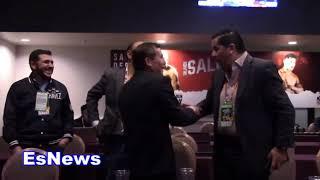 FUNNY Julio Cesar Chavez To Seckbach Puto  EsNews Boxing