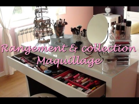 UPDATE ] Mon rangement maquillage / Collection maquillage - YouTube
