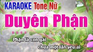 Duyên Phận Karaoke Tone Nữ | Bản Chuẩn 2020 - Nhạc Sống Thanh Ngân