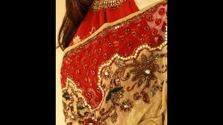 SOLD - Beautiful Indian Saree shama boutique -https://www.facebook.com/ShamaBoutique Thumbnail