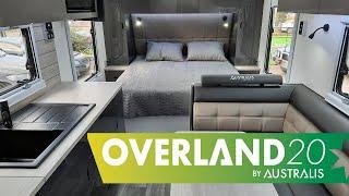 Overland 20 Couples Caravan Internal Overview