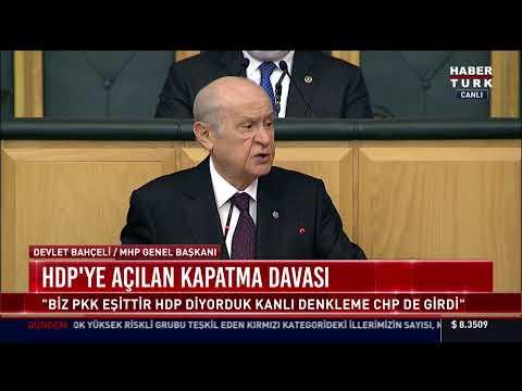 MHP Genel Başkanı Devlet Bahçeli partisinin grup toplantısında konuşuyor #CANLI
