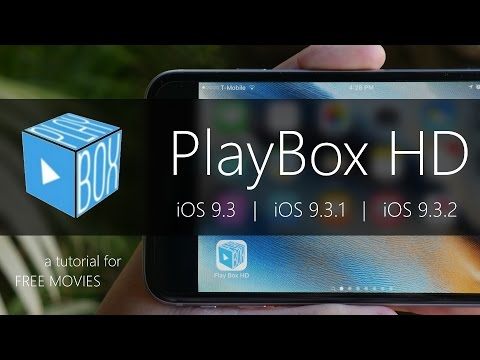 PlayBox HD: How To Get FREE Movies on iOS 9.3 and Later  NO JAILBREAK & Movie Box ALTERNATIVE