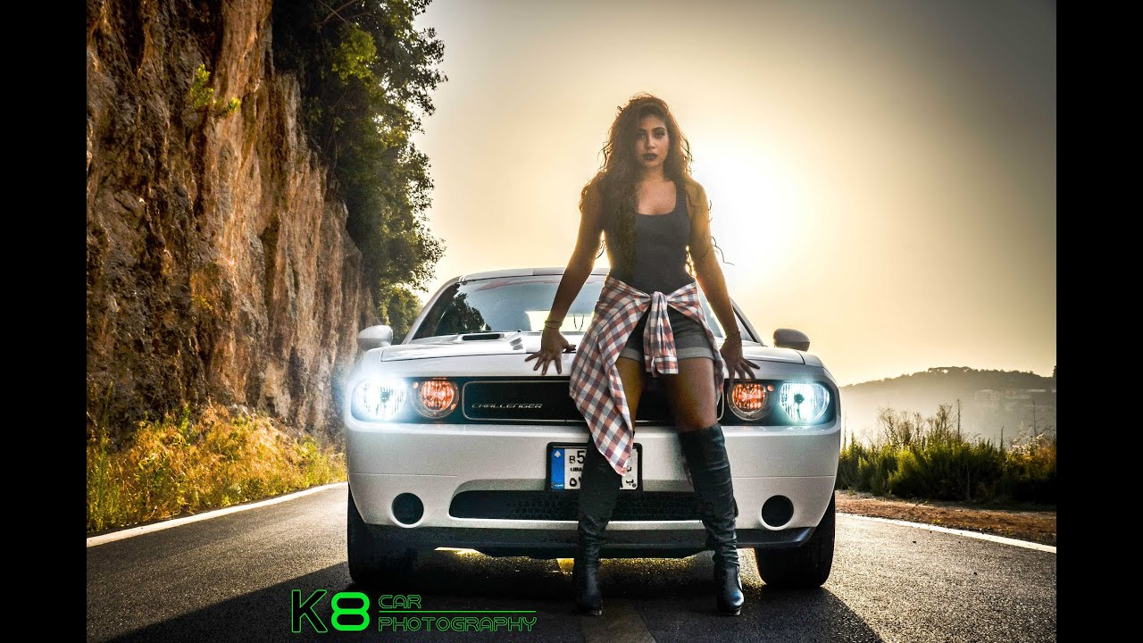 Marie And Her Challenger By K8 Car Photography Youtube