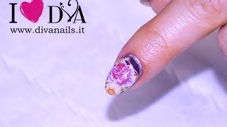 Water Decal Nail Effetto decoupage unghie gel