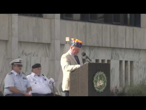 Dearborn Veterans Park Dedication