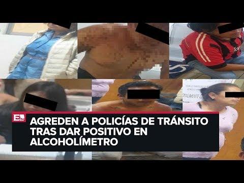 Detienen a 9 por golpear a policías de tránsito en Cuajimalpa