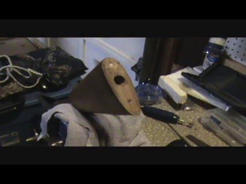 stock repair how to fix stripped screw holes in wood stock pt2 fitt youtube. Black Bedroom Furniture Sets. Home Design Ideas
