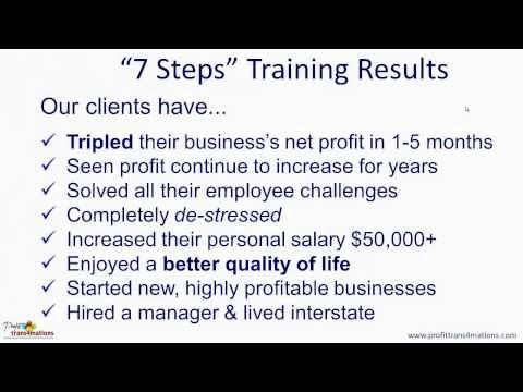 Business Development Training | Business Development Strategies | Step 1 Of 7 Building Your Vision