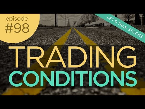 Ep 98: Reading the Stock Market Road Conditions in Trading