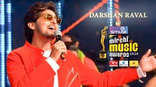 Darshan Raval rocks the stage of Smule Mirchi Music Awards 2020 | KAMARIYA | CHOGADA TARA