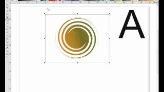 MAKİNG A SİMPLE LOGO İN COREL DRAW X5