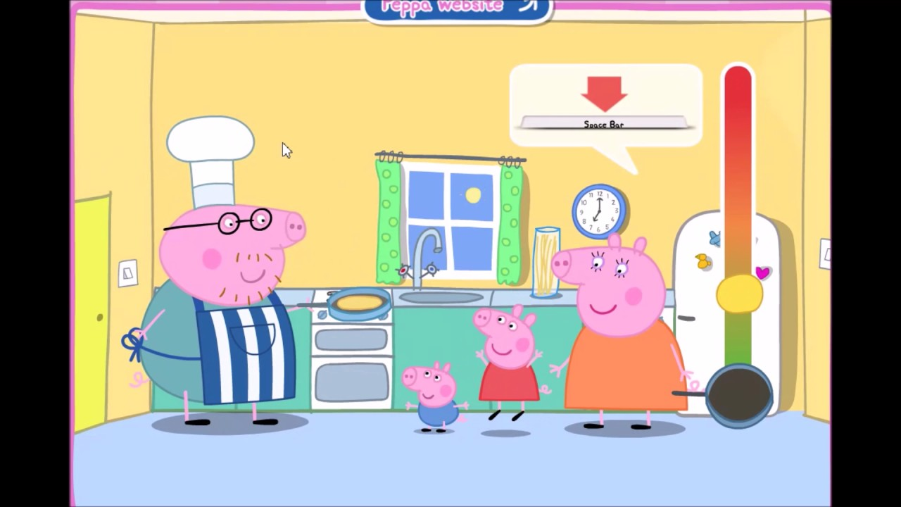 peppa pig pancake game