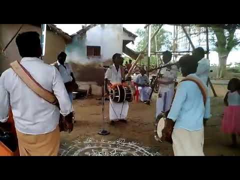 கருப்பசாமி மேளம் அழைப்பு-Karuppasamy Melam-Naiyandi Melam