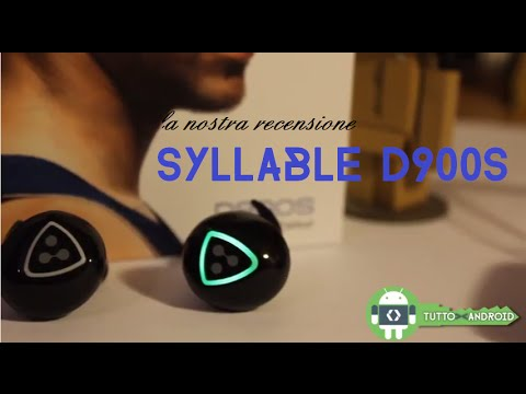 Recensione auricolari bluetooth Syllable d900s - YouTube 55970cd9e77a
